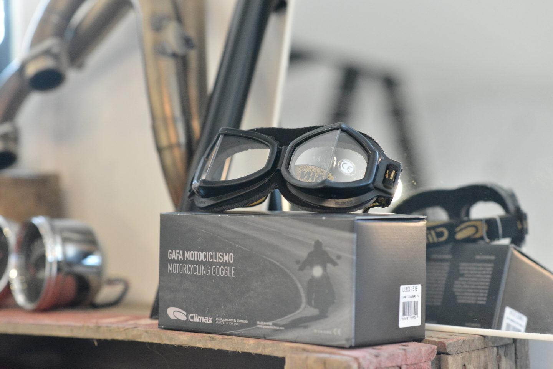 climax 518 googles glasses, disponible chez Les Vieux Boulons à Lagny sur Marne